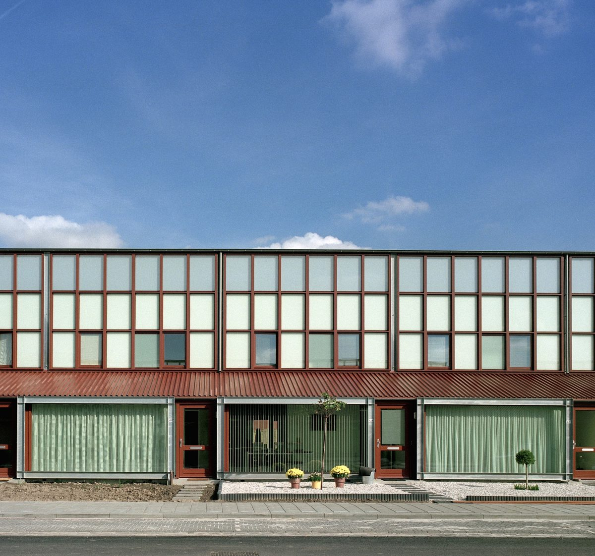 Marlies Rohmer housing, Lelystad, aluminum, conservatory, CPO, extensibiliy