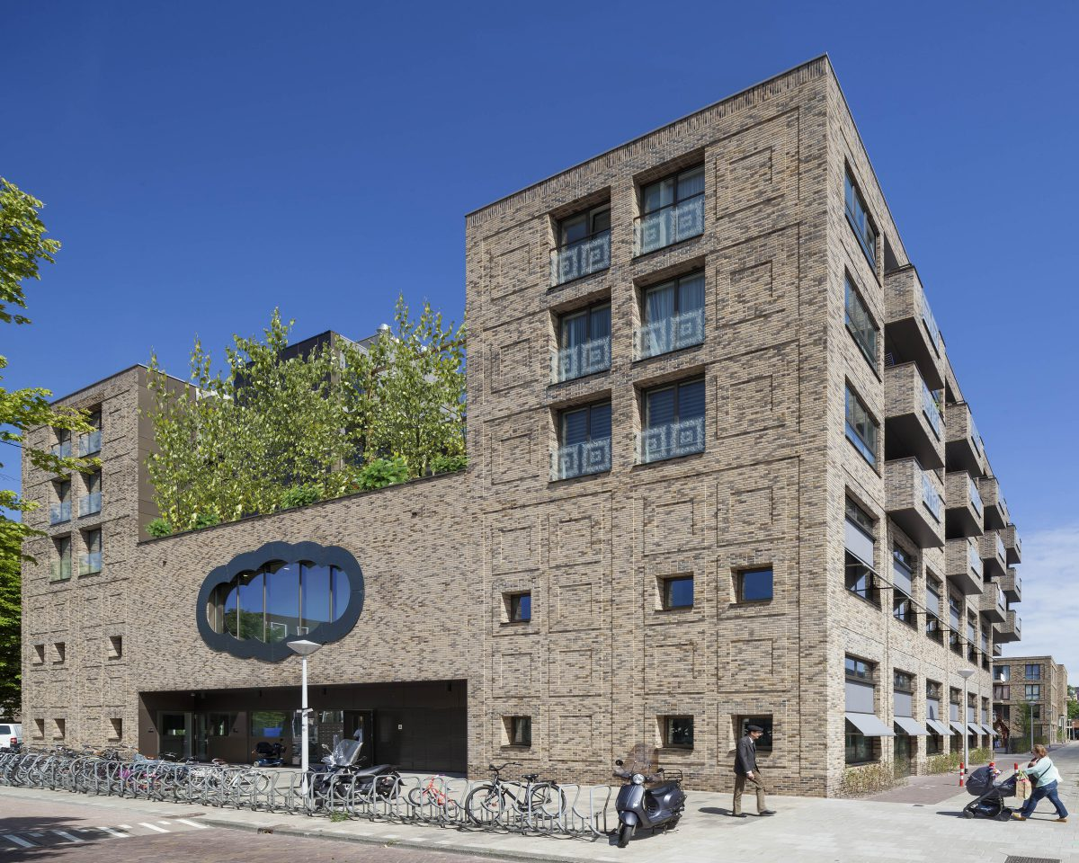 Marlies Rohmer, school, woningen, Bos & Lommer Amsterdam, Bolo, groen, basisonderwijs, gymzaal, sociale woningbouw