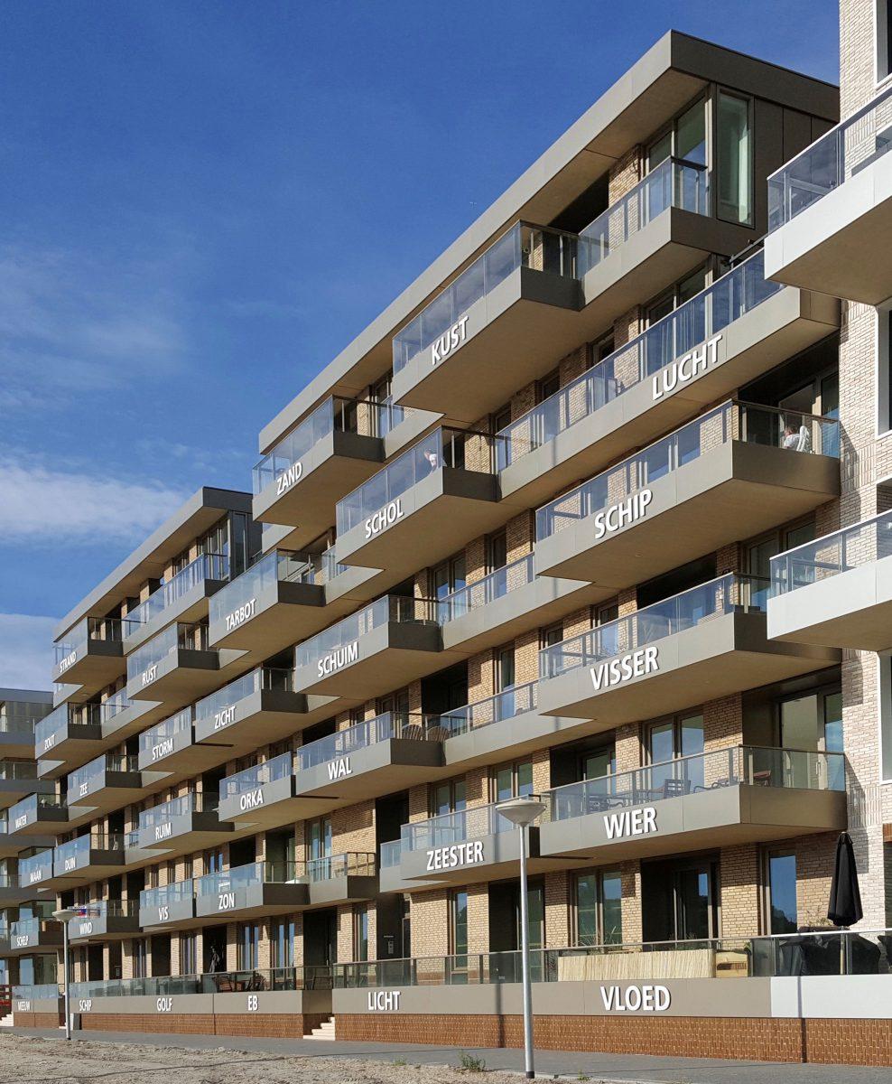 Marlies Rohmer, Norfolk. Zuidduin, woningbouw, Scheveningen, namen, zee, strand, identiteit
