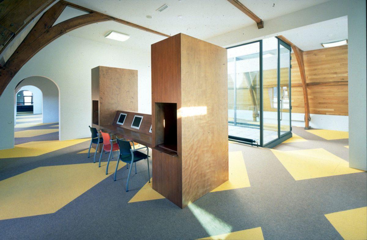 Marlies Rohmer, museum, Centraal Museum Utrecht, hout, multimedia centrum, bibliotheek, Joep van Lieshout