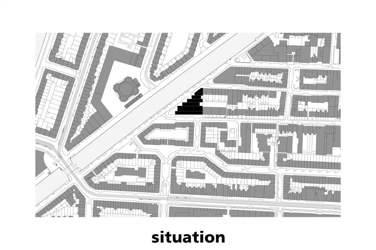 Marlies Rohmer, stedelijke vernieuwing, Amsterdam, Buurtfabriek Ruimzicht, Beton, daklandschap, Kostverlorenvaart, wit gebouw, industriële architectuur