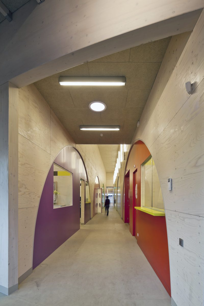 Marlies Rohmer, buurtpaviljoen, Panorama, Veenendaal, energieneutraal, hout, circulair, aluminium, gymzaal, buurthuis, groen dak, PV panelen