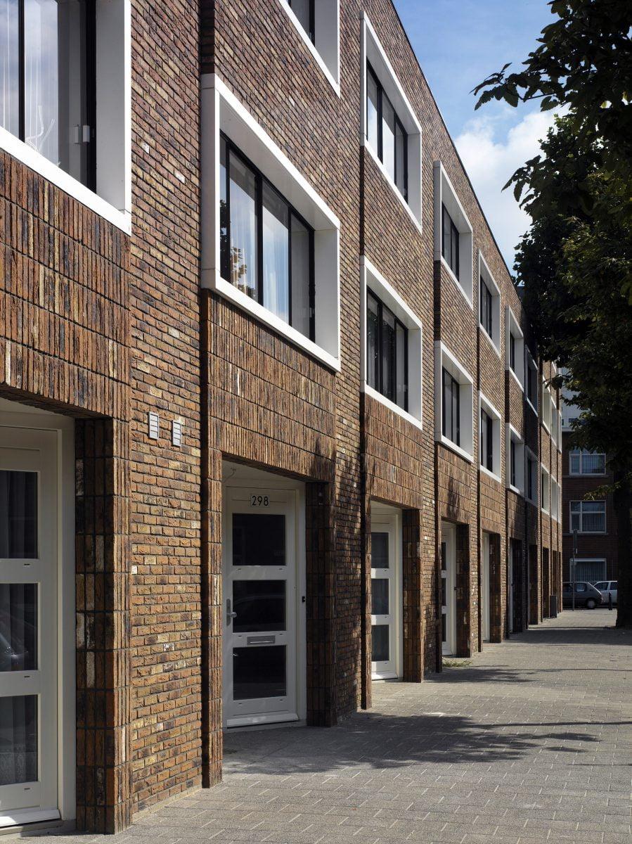 Marlies Rohmer, Town houses, housing, Transvaalbuurt The Hague, masonry, veranda feeling, various cultures