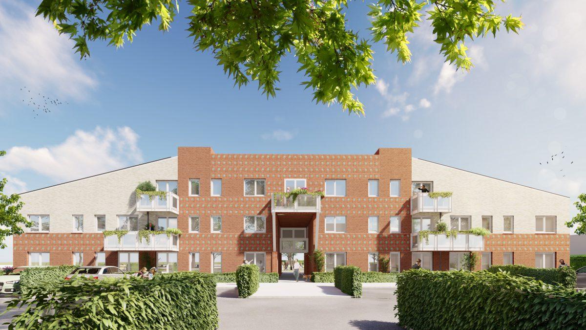 Marlies Rohmer, Zeist, Geiserhof, urban renewal, city renewal, housing, courtyard, square, pergola, monument de Naald